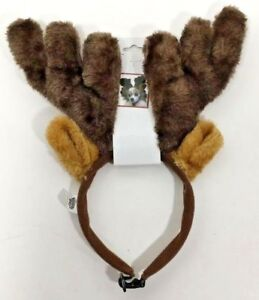 Pet-Dog-Christmas-Holiday-Antlers-Headband-Adjustable-Strap