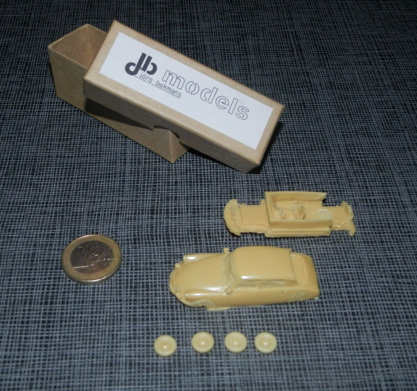 Jb models 1 87  citroen ds rally (rare) has kit build