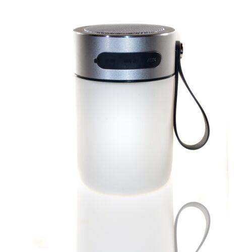 XL LED Lampe Bluetooth Lautsprecher,8 SMD/LED,USB Ladeport,Spritzwassergeschützt