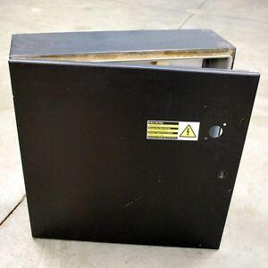 "Hoffman C-SD20206 Enclosure. 20""L x 20""W x 6""H Enclosure type 4.12. - USED"