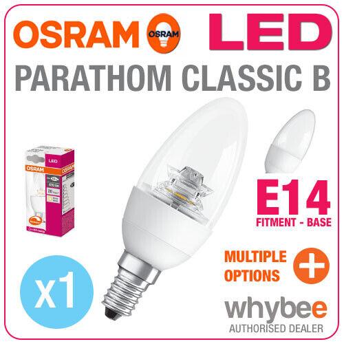 NEW OSRAM LED RETROFIT BULBS PARATHOM CLASSIC B SMALL EDISON SCREW SES E14 14mm