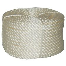 T.W . Evans Cordage 32-066 3/4-Inch by 100-Feet Twisted Nylon Rope Coilette New