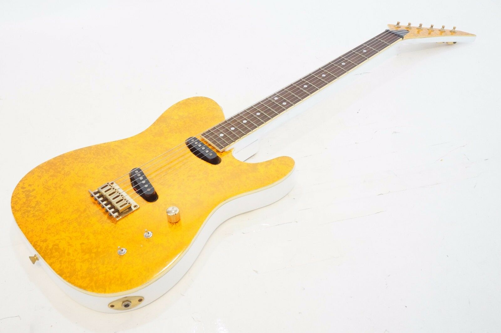 Fernandes TEJ-45 CANDY PAINT Orange LIMITED EDITION Telecaster