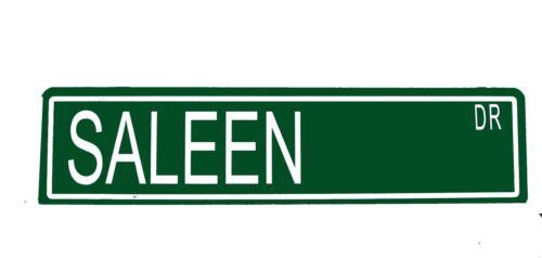 "Custom Metal Street Sign Saleen St  6/""x24/"" Car Garage Man Cave 42111"