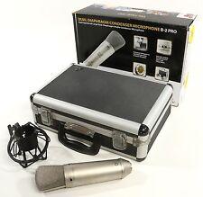 Behringer Mic B-2 Pro Dual-Diaphragm Condenser Microphone W/ Case