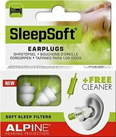 Alpine Sleep Soft Earplugs, New, Free Shipping