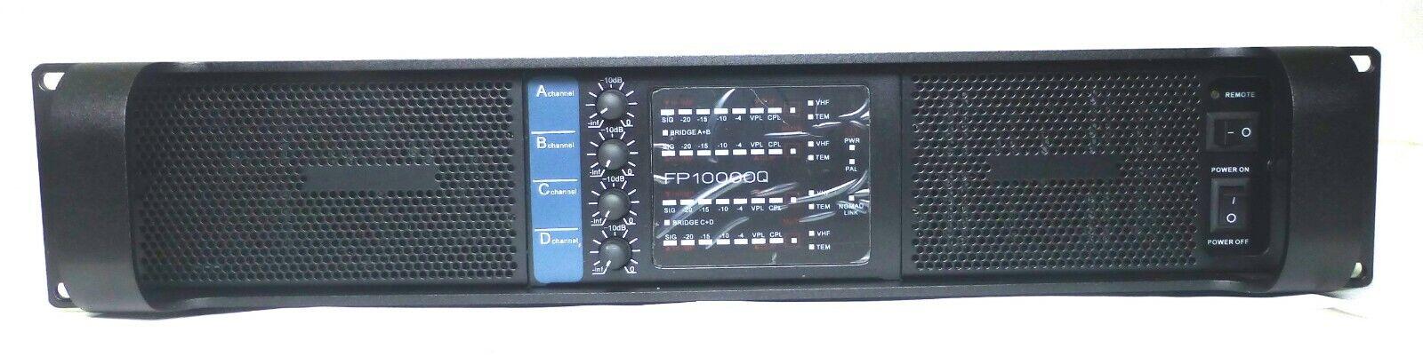 New FP 10000 Series Professional Power Amplifier 4 Channel Amplifier
