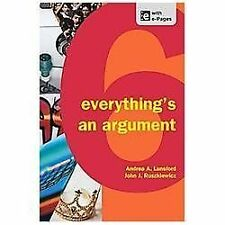 Everything's an Argument by Keith Walters, John J. Ruszkiewicz and Andrea A. Lun