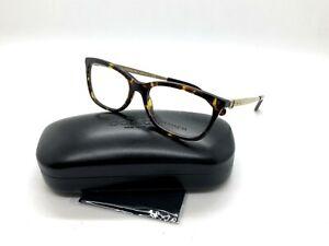 2aa990cd62a8 Image is loading Authentic-Coach-Eyeglasses-HC6114-5485-Dark-Tortoise-Frames -