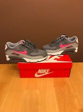 Nike Air Max 90 (GS) 4.5Y Rare Gray Pink Boost NMD Roshe Flyknit (Womens 6)