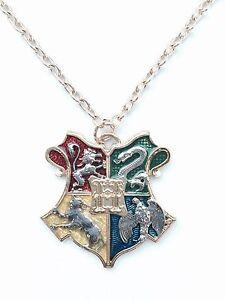 Harry Potter Kette Gryffindor Hogwarts Slytherin Ravenclav Wappen