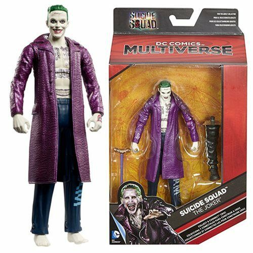 DC Comics Multiverse Suicide Squad JOKER 6 inch Action Figure (NEW)