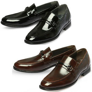 Mooda Mens Leather Loafer Shoes Classic Formal Lace up Dress Shoes BasicBjo UK