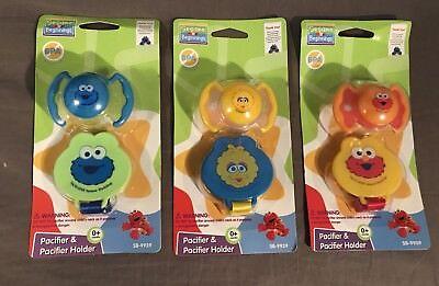 Sesame Street Handmade Pacifier Holder Kids Shows