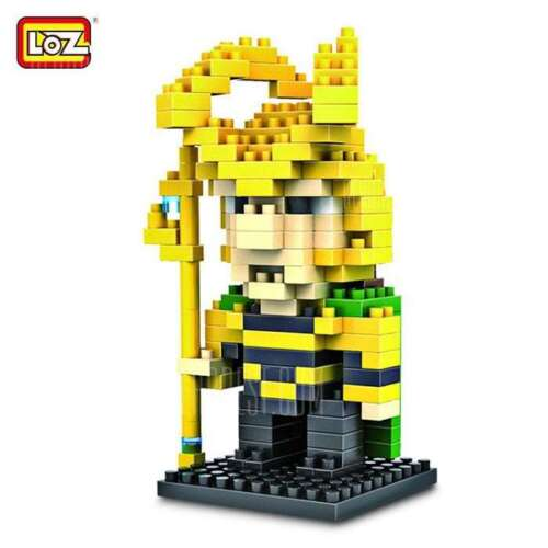 Gift UK LOZ DIAMOND Loki 9156 180pc Building Block Toy Brand New