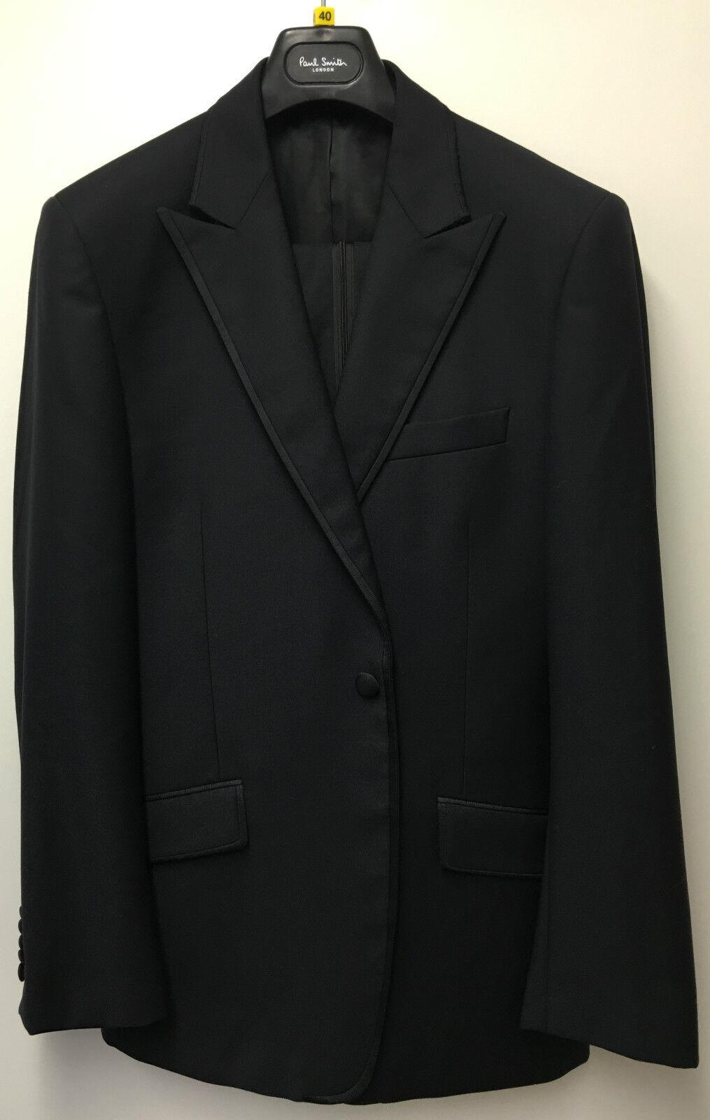 Paul Smith Evening Suit BYARD TailoROT Fit Wool & Mohair UK40R EU50R
