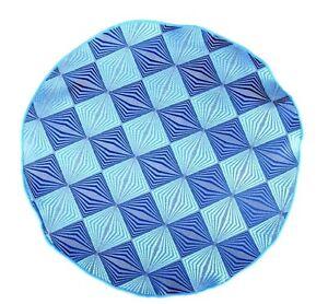 Lord R Colton Masterworks Pocket Round Levanzo Shark  Aqua Silk - $75 Retail New