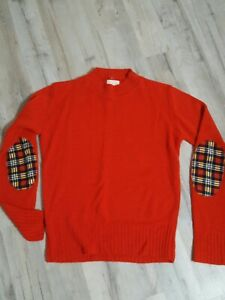 Vintage-60s-70s-Sweater-With-elbow-Patches