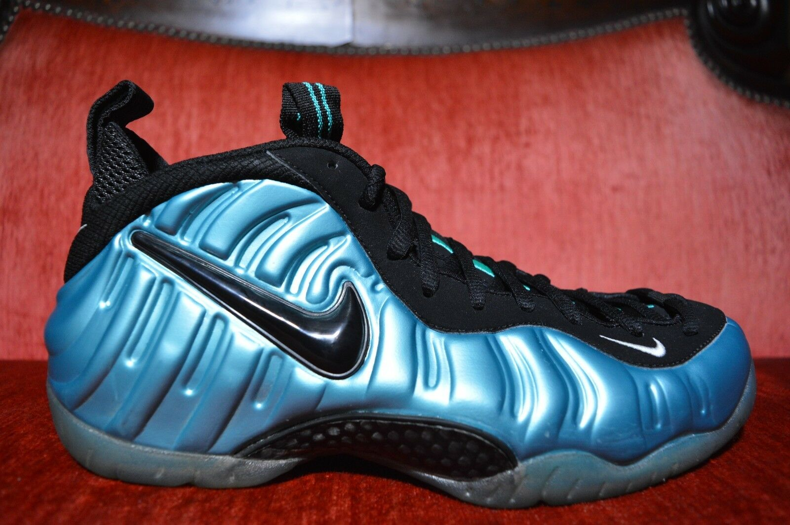 ede43a00cc7a6 WORN 2X NIKE AIR PRO ELECTRIC blueE Size RETRO 624041-410 FOAMPOSITE ...