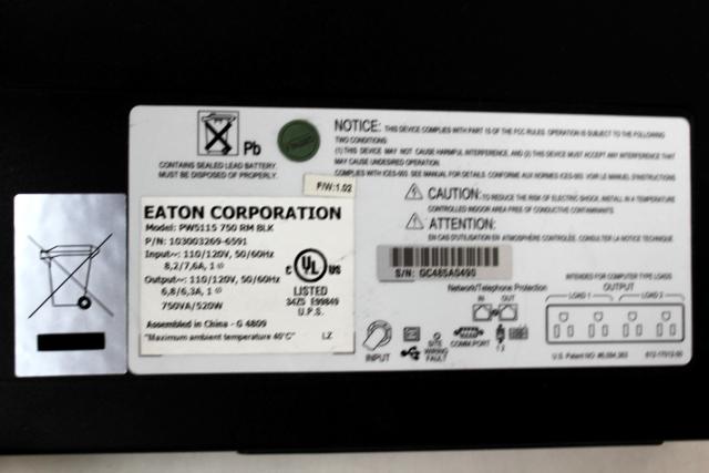 Eaton-Powerware PW5119-3Ki-RM Compatible Replacement Battery Kit