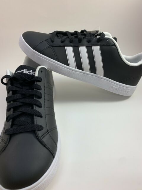 adidas Neo Label VS Advantage Black White Mens Casual
