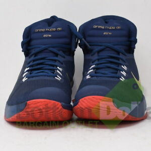 d92fada800 Nike Prime Hype DF 2016 844787-400 Mens Anatomical Collar Basketball ...