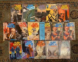 ALIEN-NATION-A-BREED-APART-Skin-Trade-Spartans-First-Comers-1-4-RUN-SET-Lot