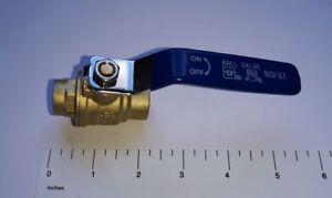 10-PCS-1-2-034-SWEAT-BALL-VALVE-FULL-PORT-LEAD-FREE-BRASS-600-PSI-WATER-OIL-GAS