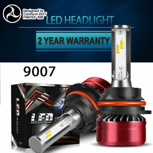 9007-HB5-LED-Headlight-Bulb-12000LM-HID-Bright-60W-Hi-Lo-Beam-6000K-Kit
