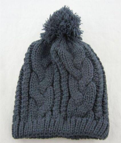 uk Verkäufer Herren Damen Stylisch Winter-Beanie Bommel Warme Kappe