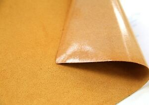 2-x-Mustard-Suede-Faux-LEATHER-Fabric-STICKER-Sheet-DIY-craft-self-adhesive-FH