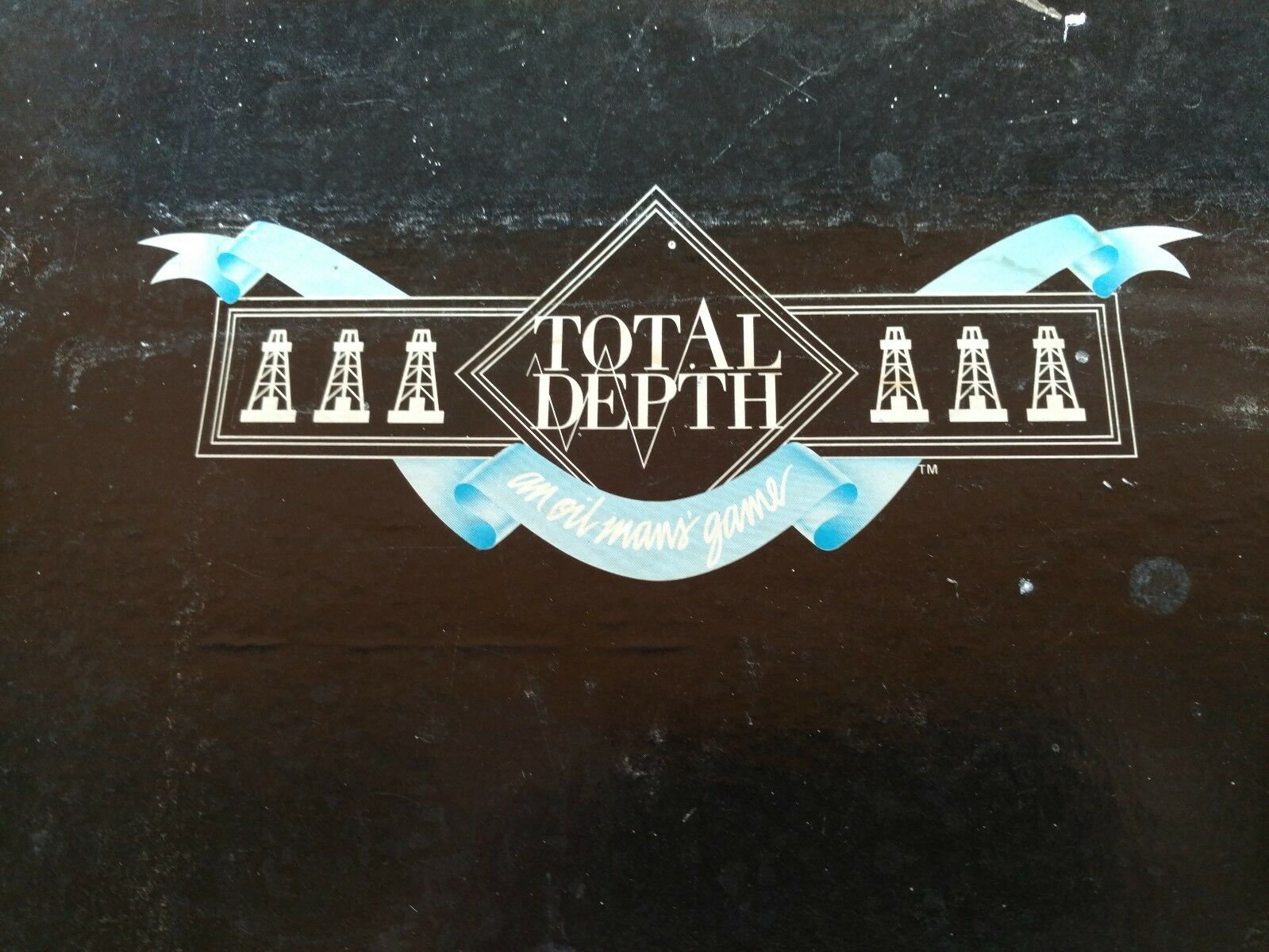 Total Depth An Oilmans' Game by Orc Production Corp Board Game - Complete