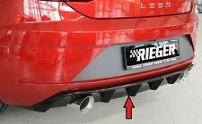 Heckeinsatz Diffusor Glanz Seat Leon 5F FR Facelift 00088133 - ABE RIEGER-Tuning
