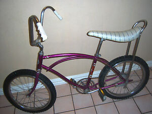 Vintage 1960 S Schwinn Stingray Sears Bike Purple Bicycle Banana