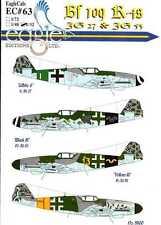 EagleCals Decals 1/32 MESSERSCHMITT Bf-109K-4 Fighter JG27 & JG53