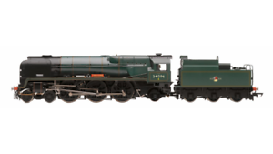 Hornby R3524 West Country Class Trevone 34096 (Rebuilt) BR grön Late Crest