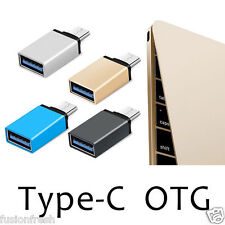 Type C To USB Female 3.1 Metal OTG Adapter Nexus 5X Mi 5 Letv 1S One + 2 Zuk Z1