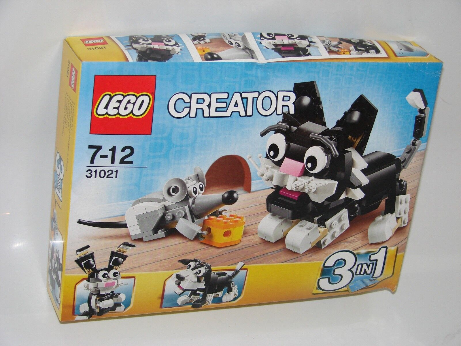 LEGO ® Creator 31021 GATTO E MOUSE h2o-danno _ Furry Creatures water damage
