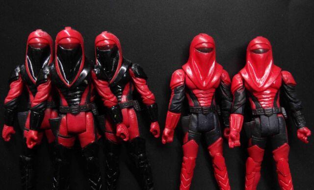 10PCS Star Wars Kir Kanos CARNOR JAX Crimson Empire Royal Guard 30th Anniversary