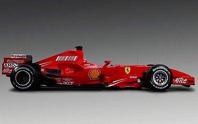 Framed Print - Ferrari F1 Race Car (Picture Poster Art Motor Sport Formula 1)