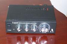 Lepai LP-S30 Hi-Fi Stereo Amplifier USB SD/MMC CARD PLATER AMP Car Amplifier