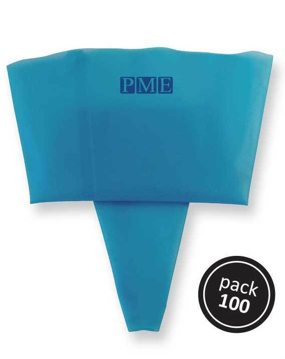 PME Cake 22   Inch 55 cm Disposable bleu Icing Decorating Sugarcraft Bags PK 100