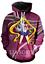 MenWomen-3D-Print-Anime-Sailor-Moon-Casual-Hoodie-Sweatshirt-Jacket-Pullover-Top miniature 29