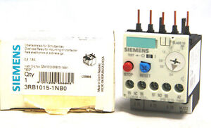 Siemens 3RB1015-1NB0 Overload Relay 0.4A - 1.6A 3RB10151NB0 New in Box