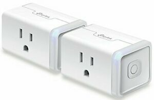 TP-Link-Kasa-Smart-Wi-Fi-Outlet-Plug-works-w-Alexa-amp-Google-Asst-KP100-KIT