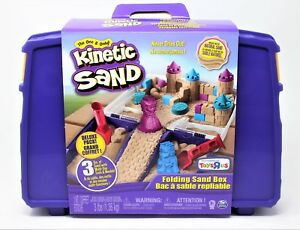 Kinetic-Sand-3lb-3lbs-1lb-of-Blue-Pink-And-Natural-With-Storage-Box-Toy-Molds