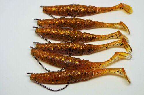 perch zander fishing pike Soft lures with offset hooks kopyto drop shot