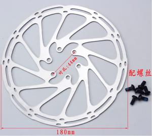 SRAM-Centerline-180mm-Disc-Brake-Rotor-6-Bolt-MTB-Mountain-Road-Bike-Cycling