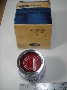 NOS OEM D7OZ-1130-C 77 78 79 FORD MERCURY WHEEL CENTER CAP HUBCAP RED ORNAMENT