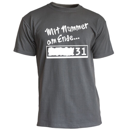 """Nukular T-Shirt Motiv /""""Nummer am Ende drei eins/"""" für Hörspiel Fans Fragezeichen"""